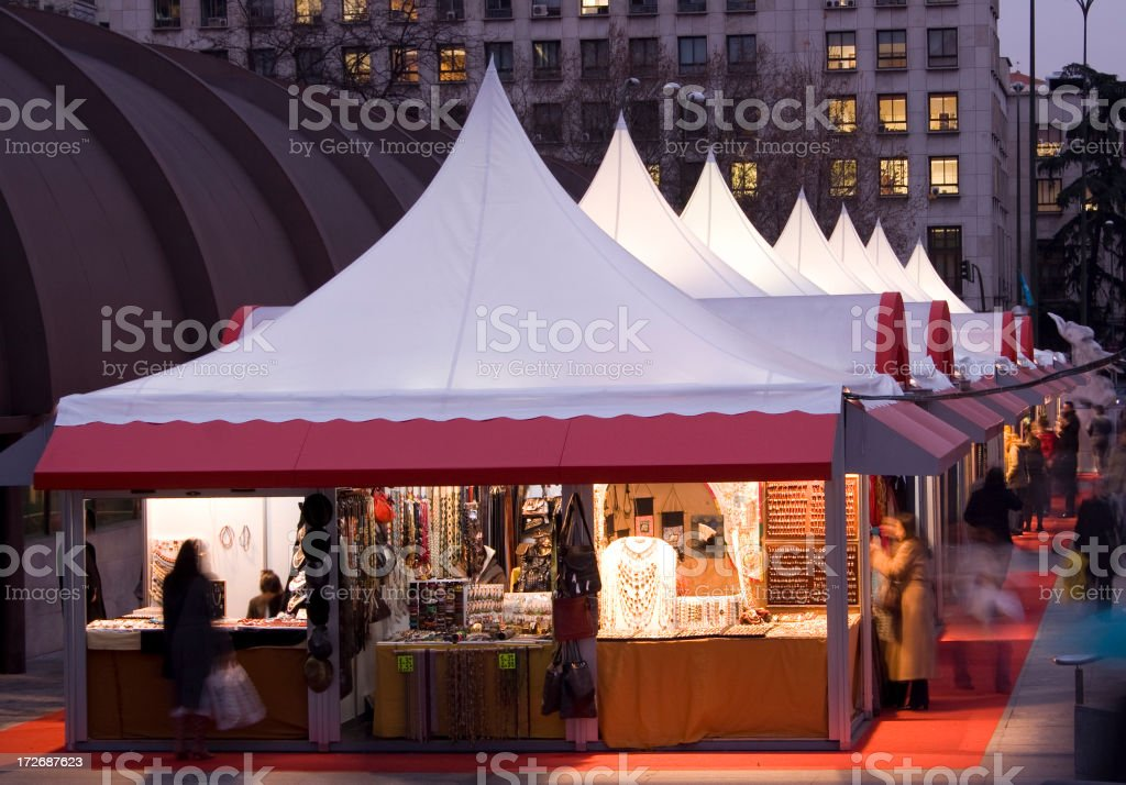 Shops royalty-free stock photo