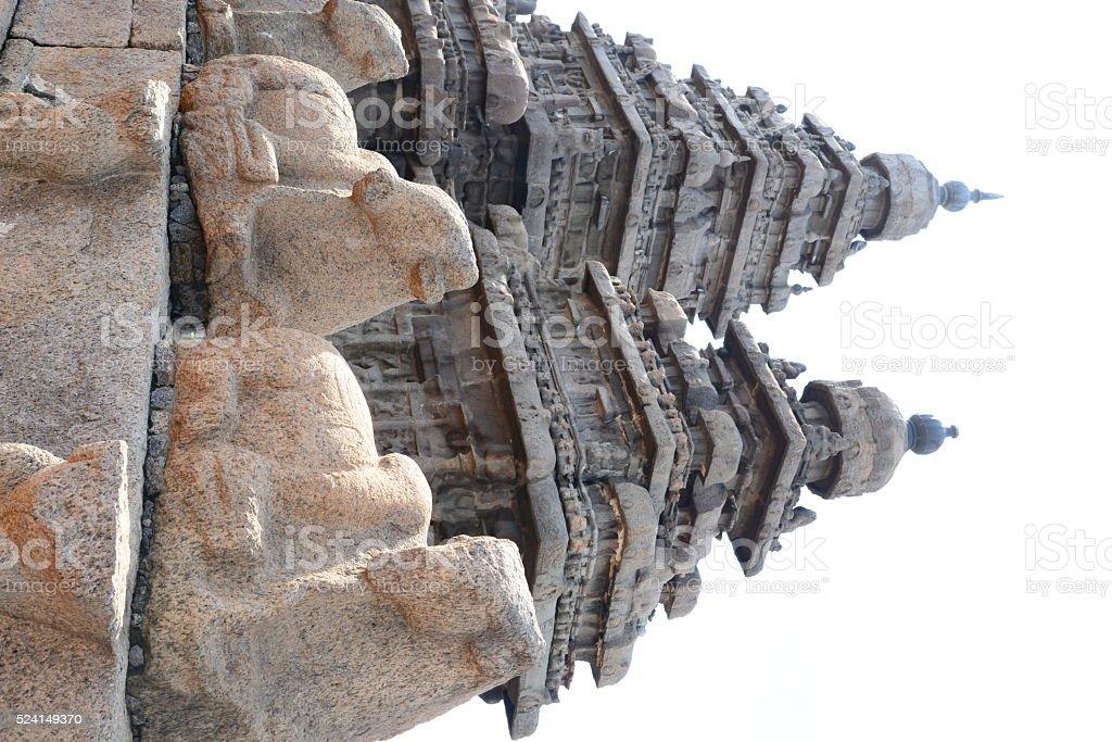Shore Temple, Mahabalipuram / Mamallapuram stock photo
