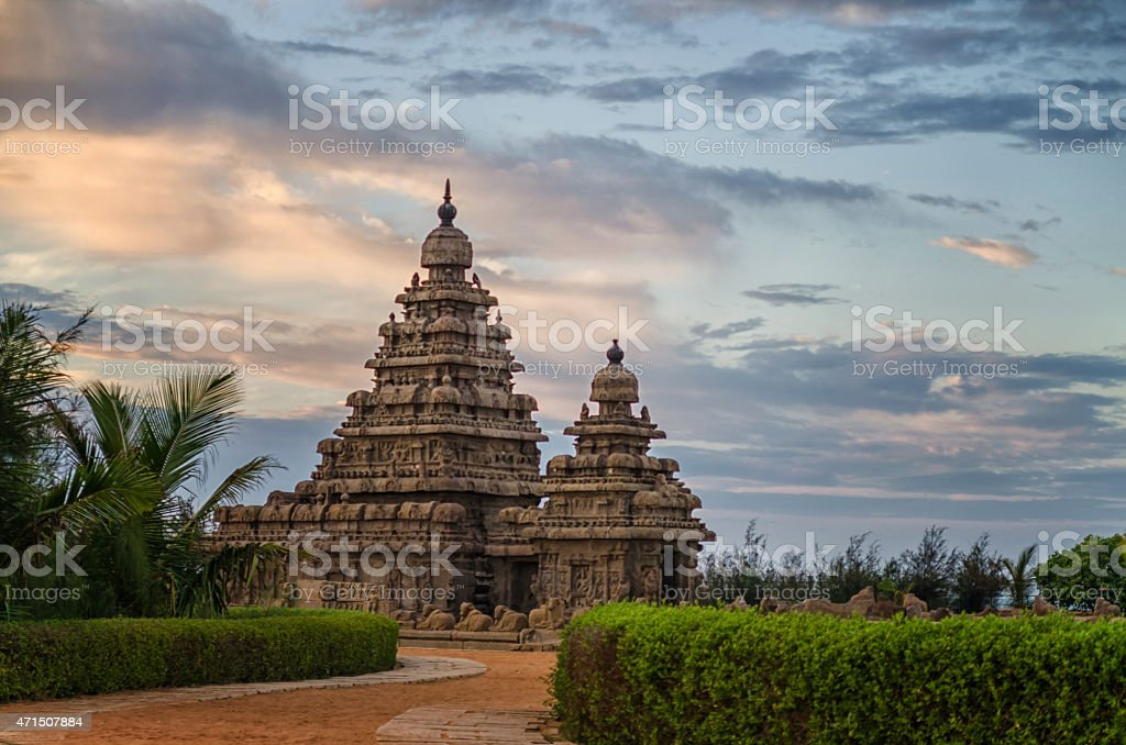 Shore Temple Mamallapuram stock photo