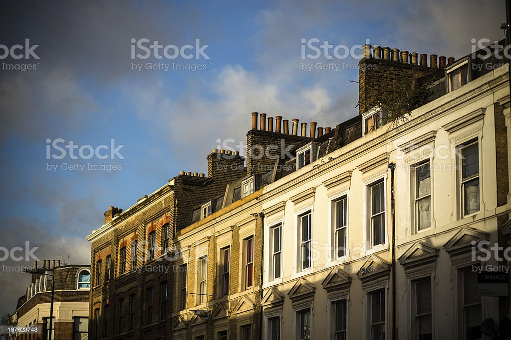 Shoreditch Roofline stock photo