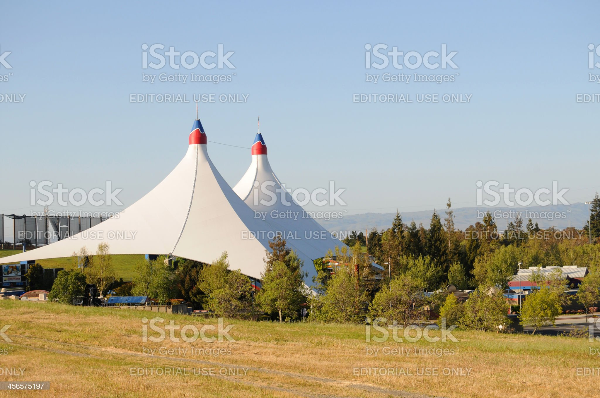 Shoreline Amphitheatre, Mountain View, California royalty-free stock photo