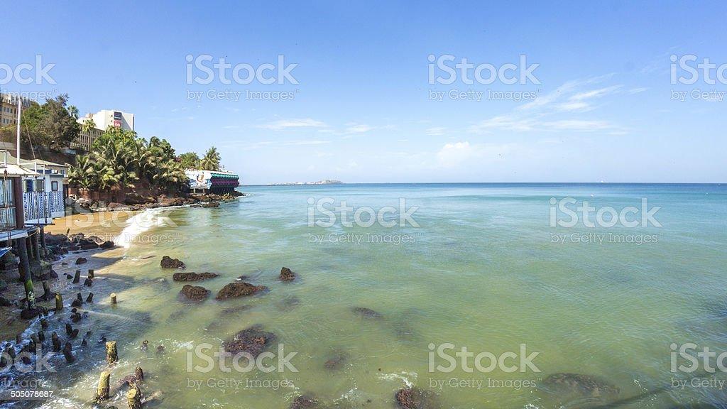 Shores of Dakar stock photo