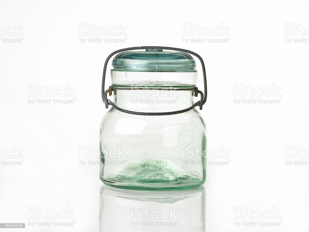 short canning jar royalty-free stock photo