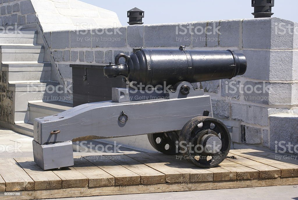Short Cannon royalty-free stock photo