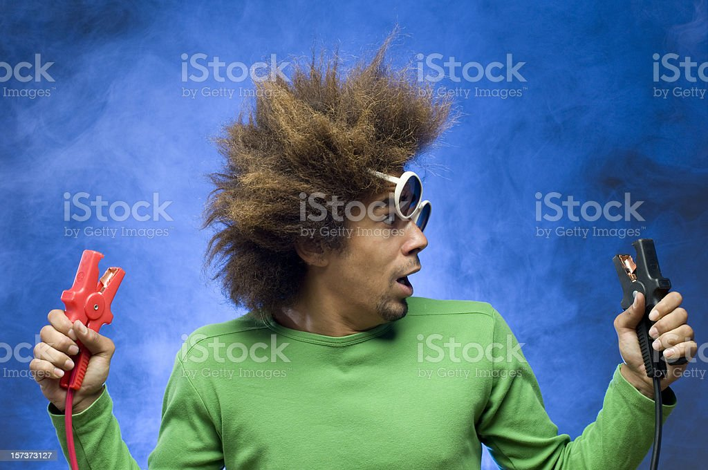 short circuit accident royalty-free stock photo