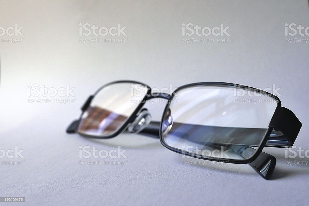 Short / long sighted royalty-free stock photo