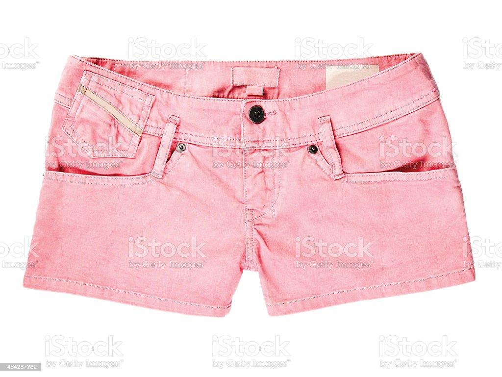 short pant isolated stock photo