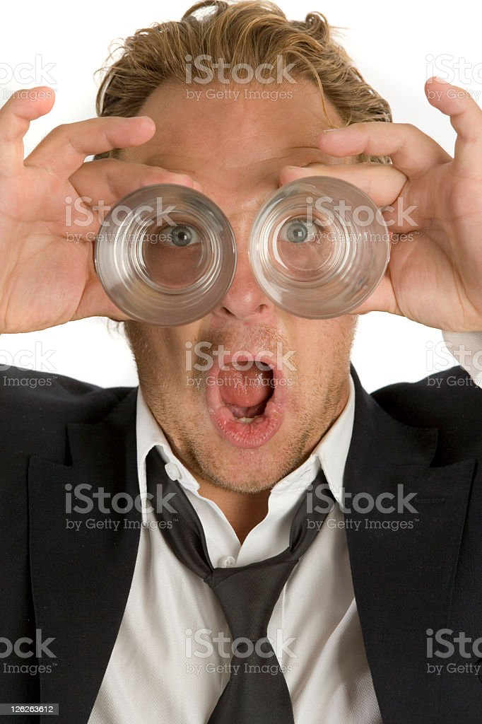 Short Sighted royalty-free stock photo