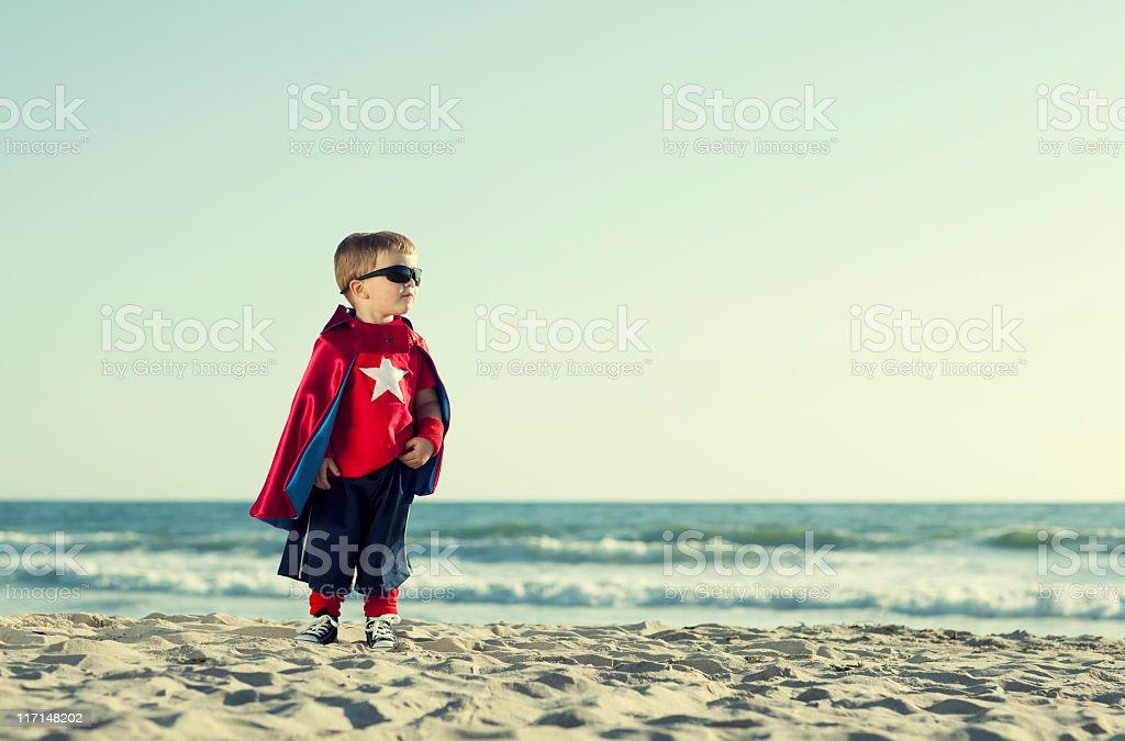 Short Superhero royalty-free stock photo