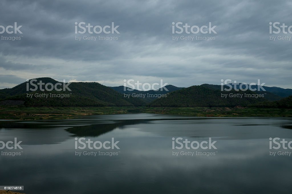 Shortage of water supply stock photo