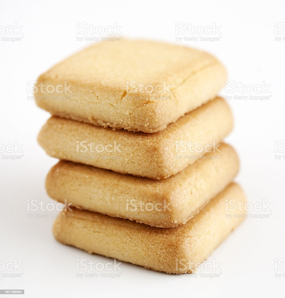 Shortbread Biscuits royalty-free stock photo