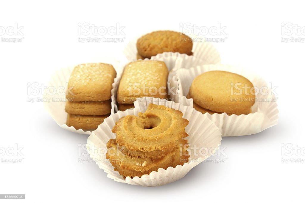 Shortbread Cookies royalty-free stock photo