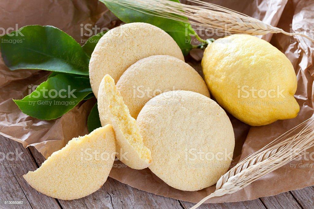 Shortbread Cookies stock photo
