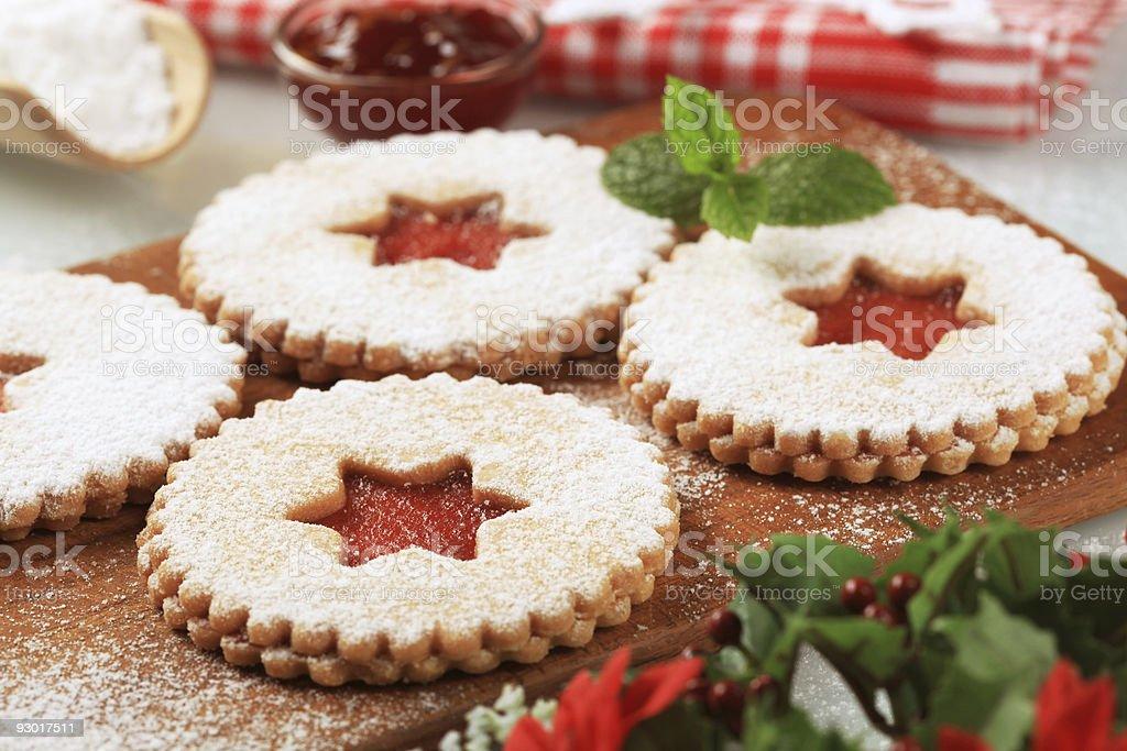 Печенье Песочное печенье Стоковые фото Стоковая фотография