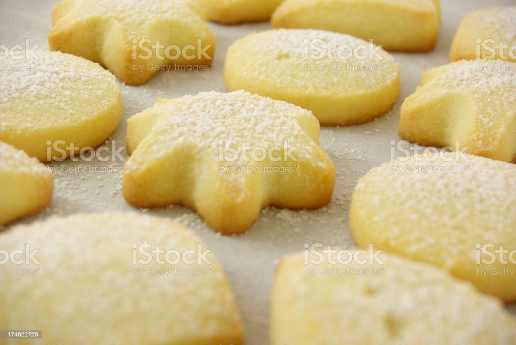 Shortbread stock photo
