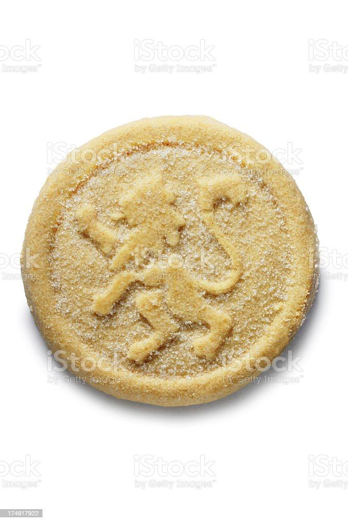 Shortbread royalty-free stock photo