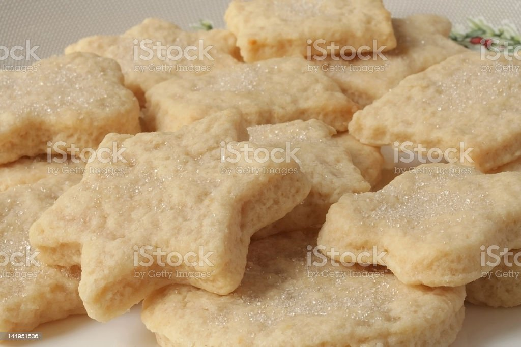 shortbread shapes royalty-free stock photo
