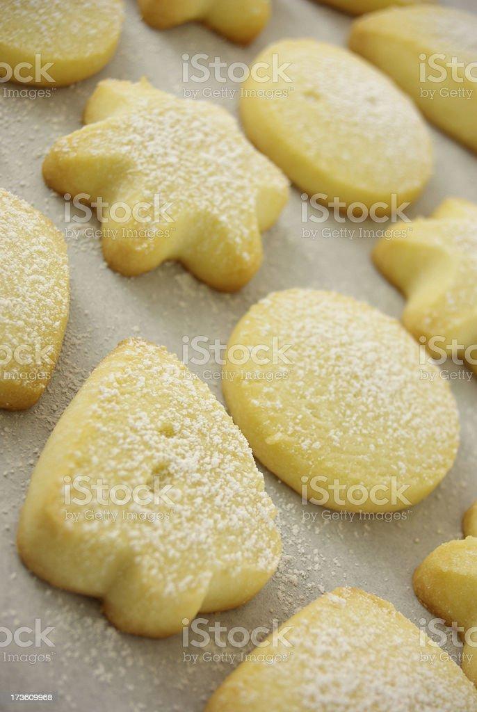 Shortbread Shapes stock photo