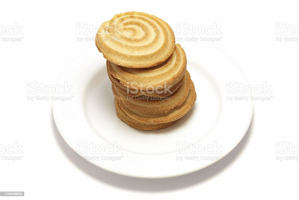 Shortbread Tower 2 royalty-free stock photo
