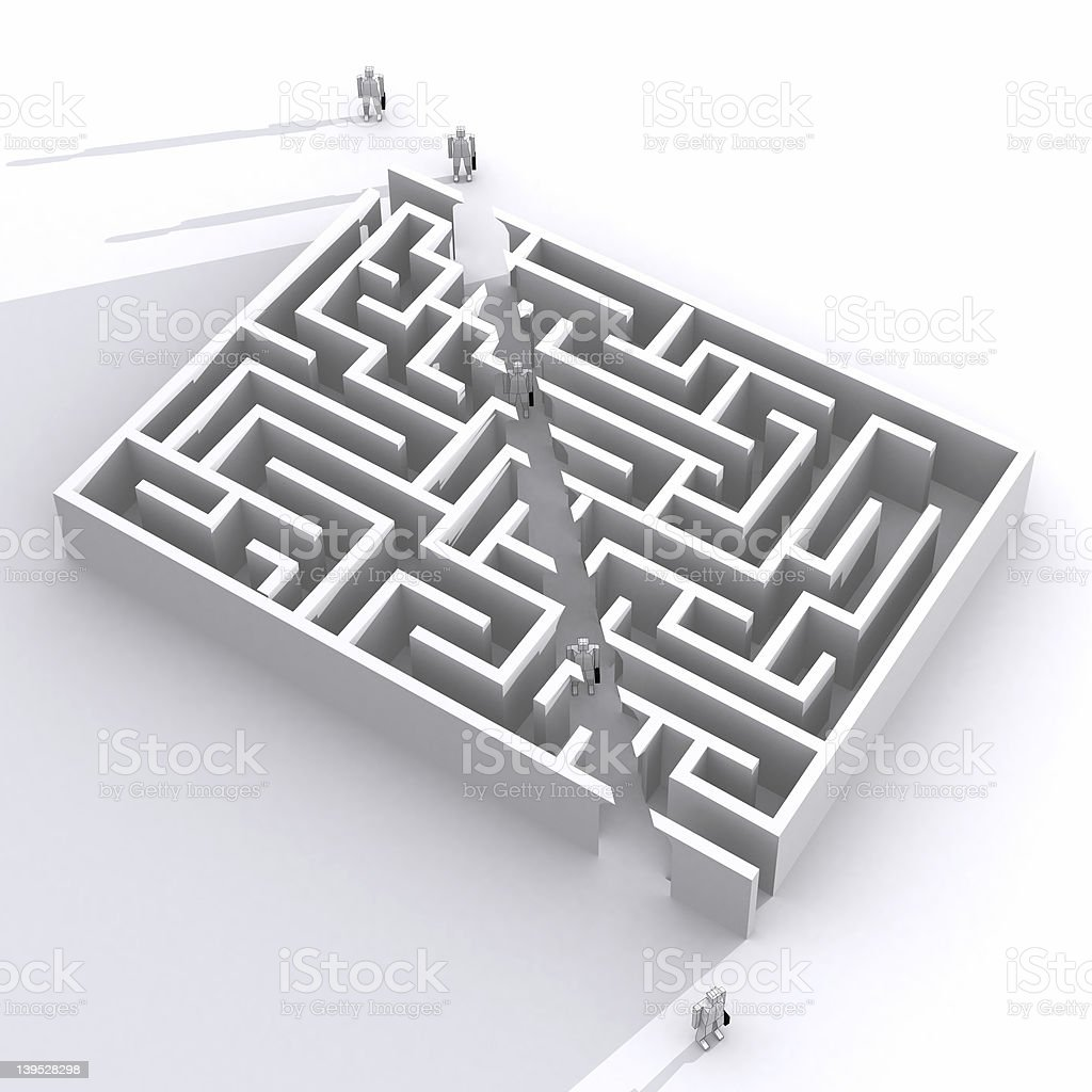 Shortcut stock photo