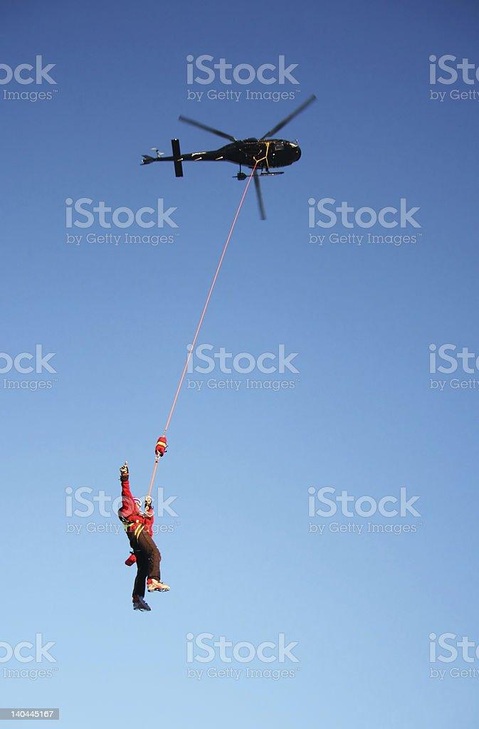 Shorthaul Rescue royalty-free stock photo