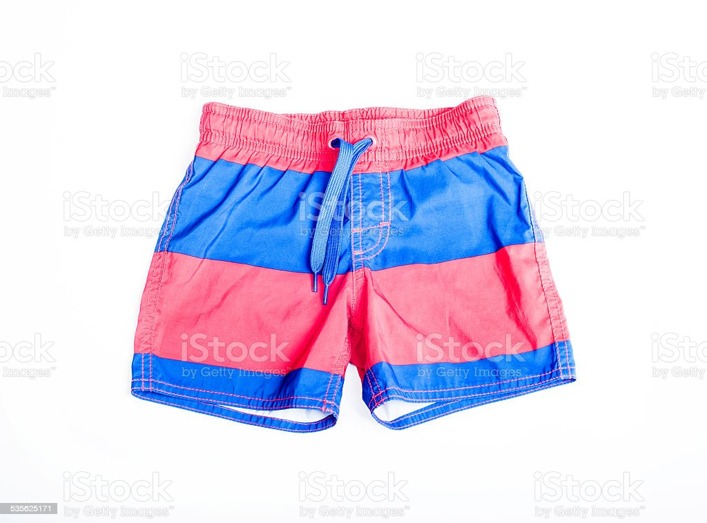 shorts for swimming stock photo