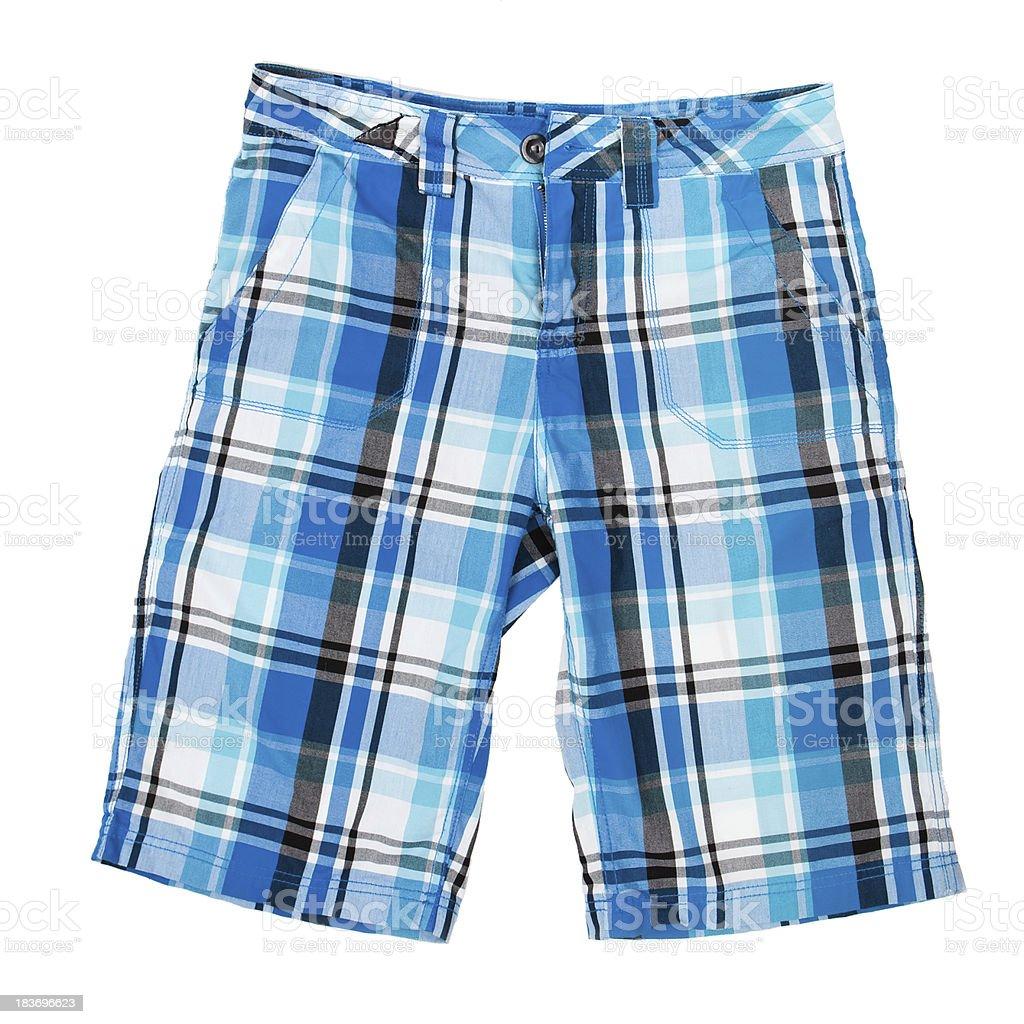 shorts isolated on white royalty-free stock photo