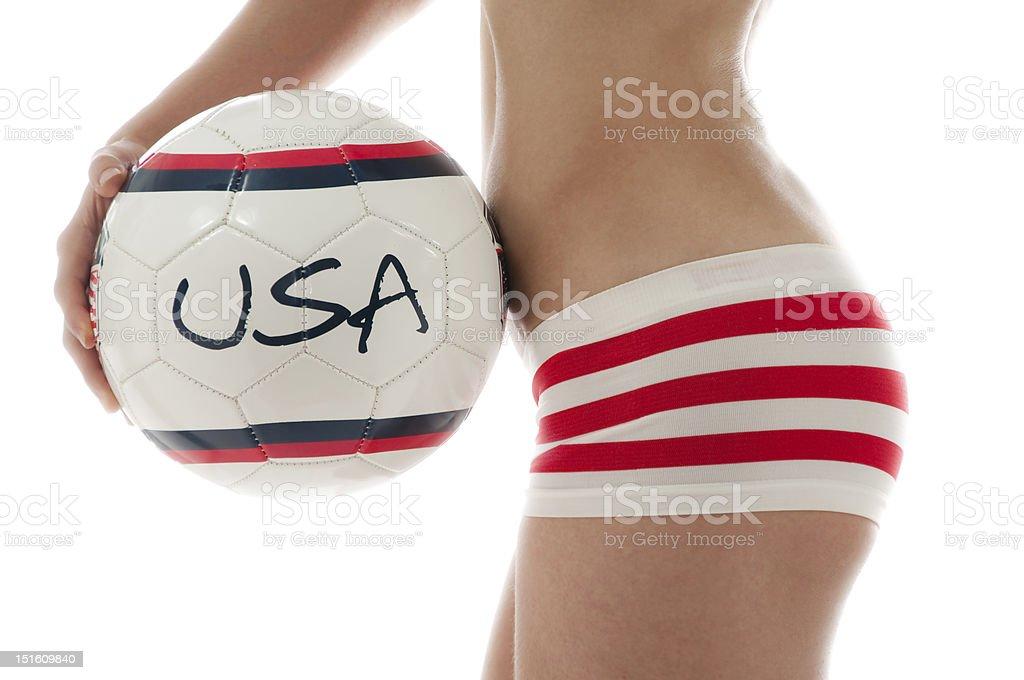U.S.A Shorts royalty-free stock photo