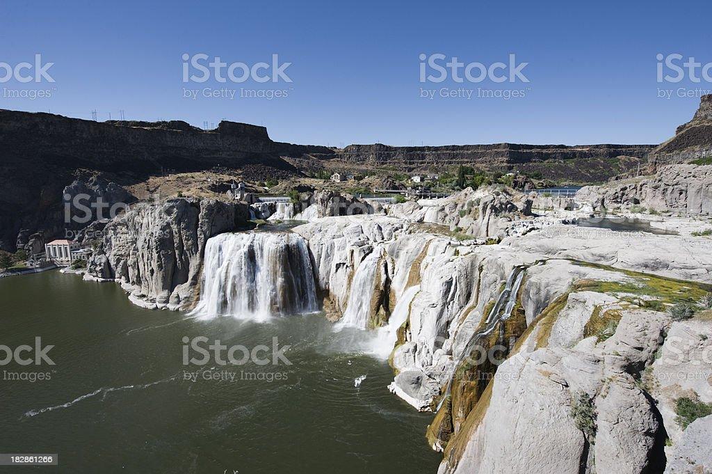 Shoshone Falls stock photo