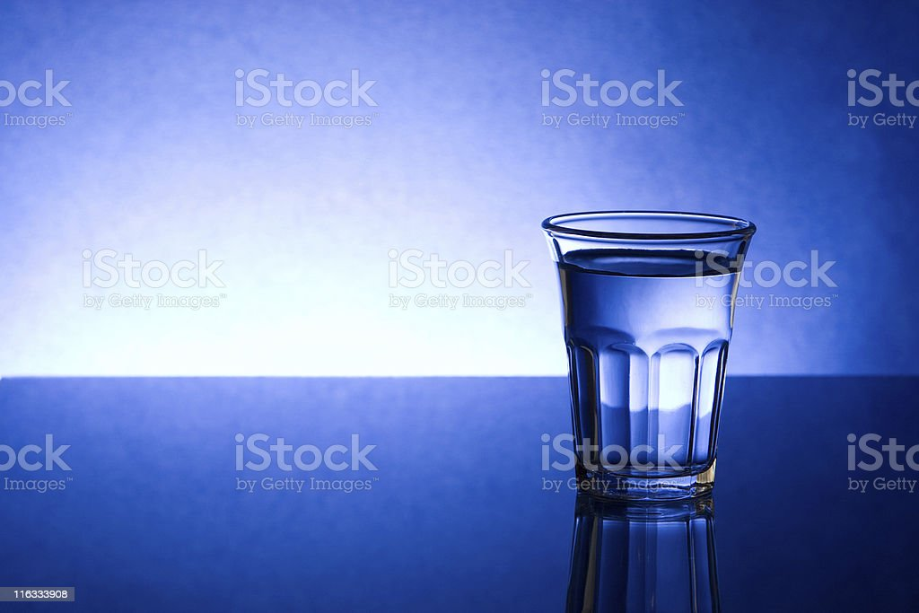 Shot glass royalty-free stock photo