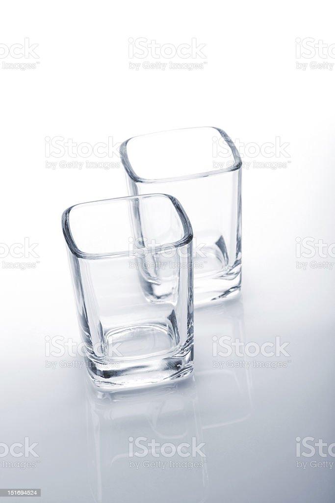 Shot glasses royalty-free stock photo