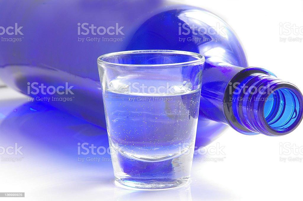 Shot o' liquor royalty-free stock photo