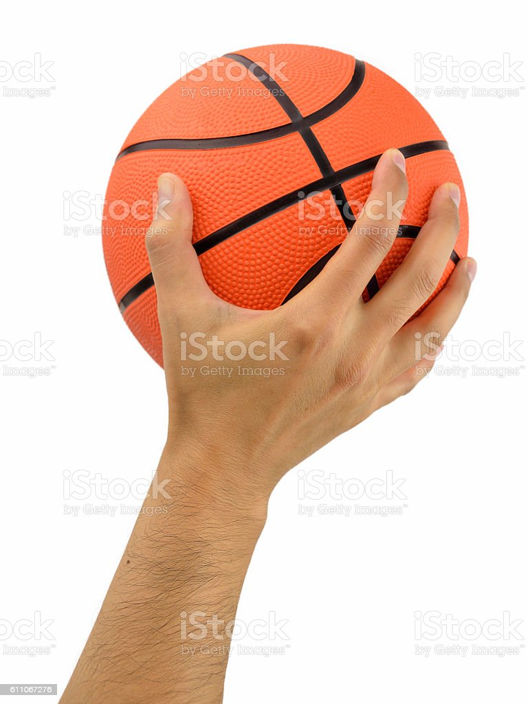 shot of a basketball player stock photo