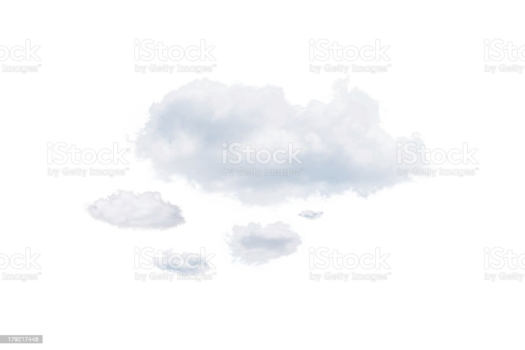 Shot of clouds stock photo