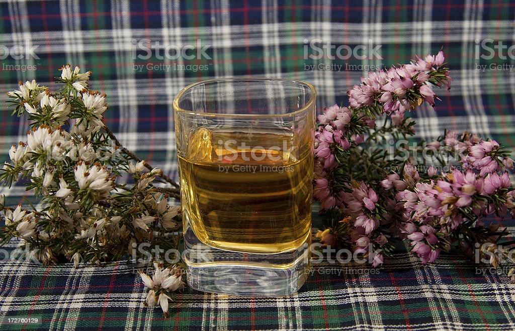 Shot of Scotch stock photo