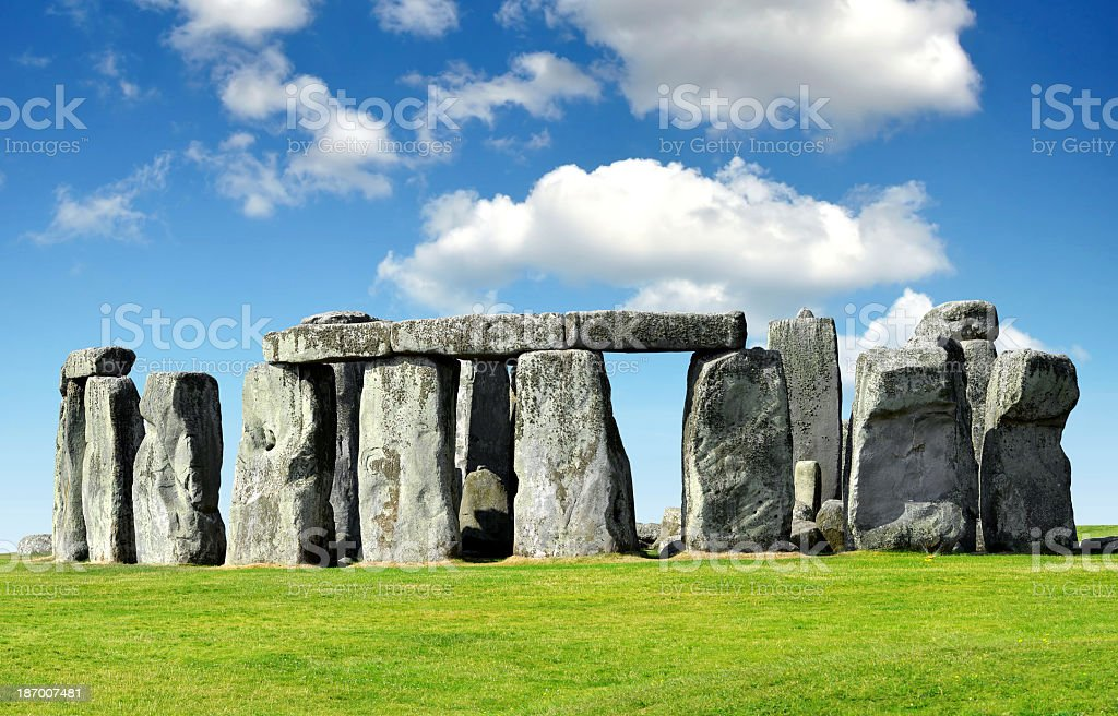 Shot of the Stonehenge landmark stock photo