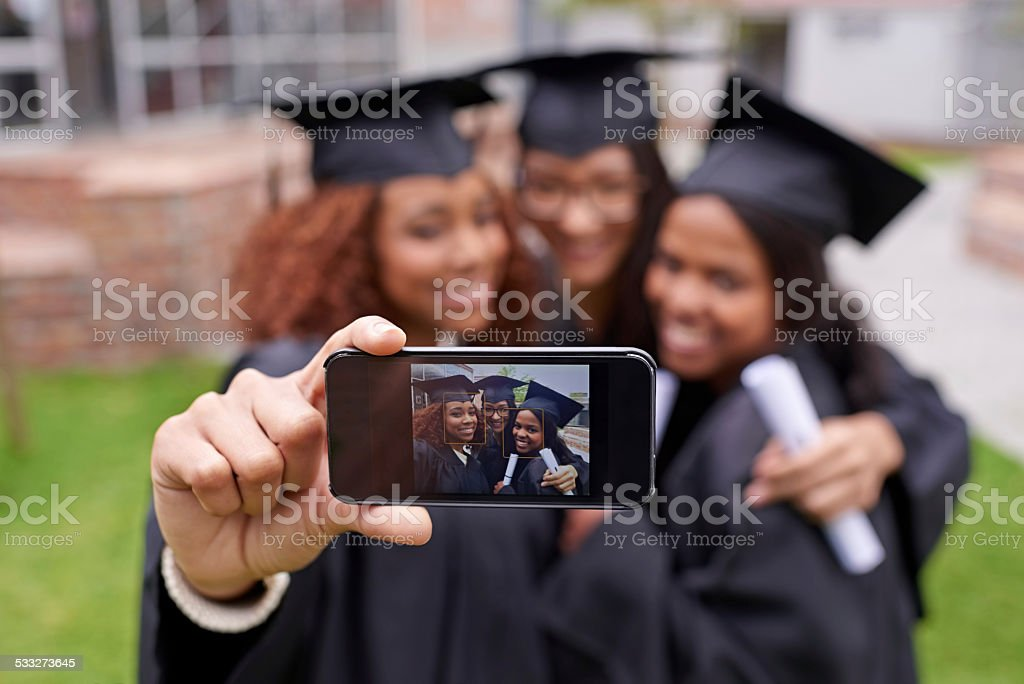 Memories of monumental moments stock photo