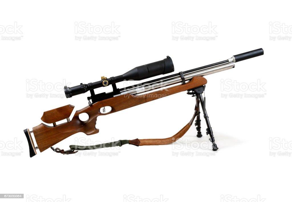 Shotgun on a white background stock photo
