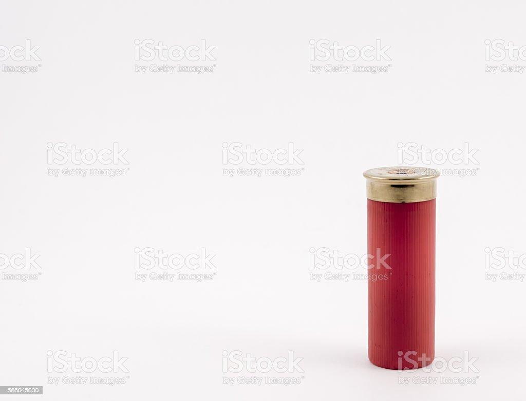 Shotgun Shell 8 stock photo