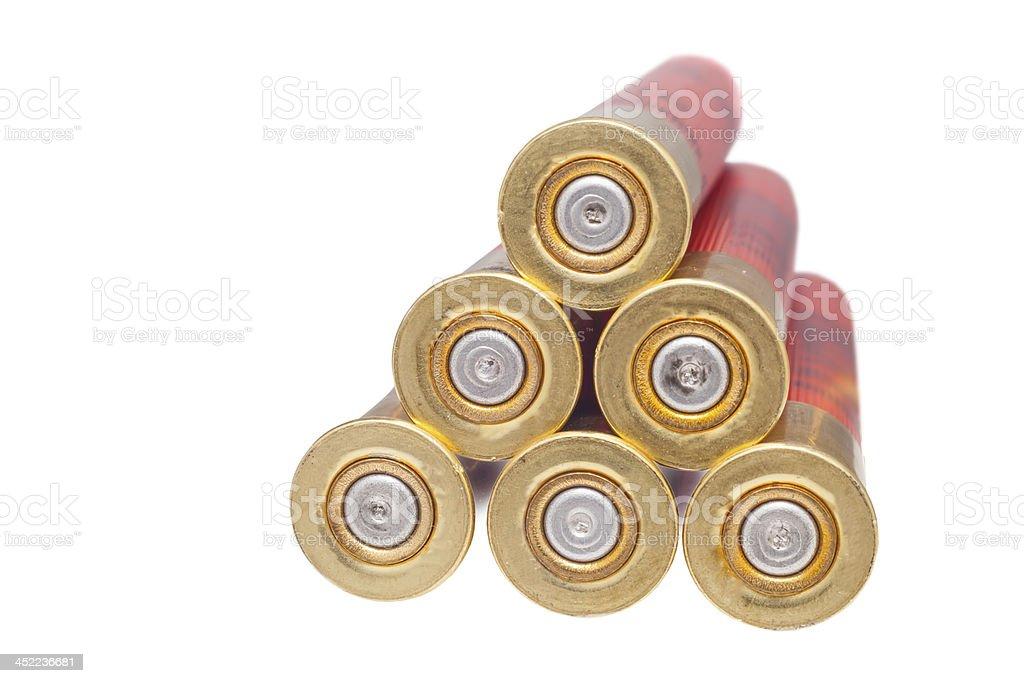 shotgun shell stock photo
