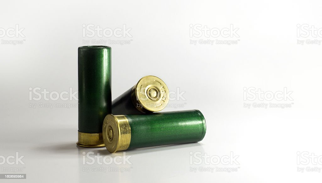 Shotgun Shells royalty-free stock photo
