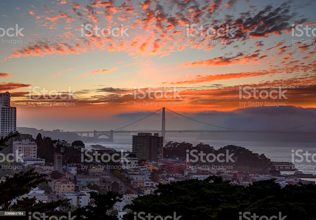 Shots of City , San Francisco, California, USA. stock photo