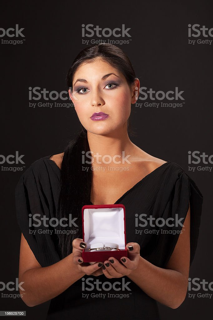 Should I accept that? royalty-free stock photo