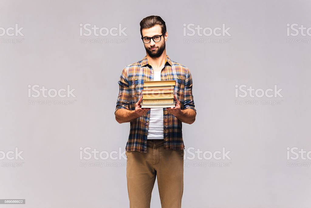 Should I read them all? stock photo