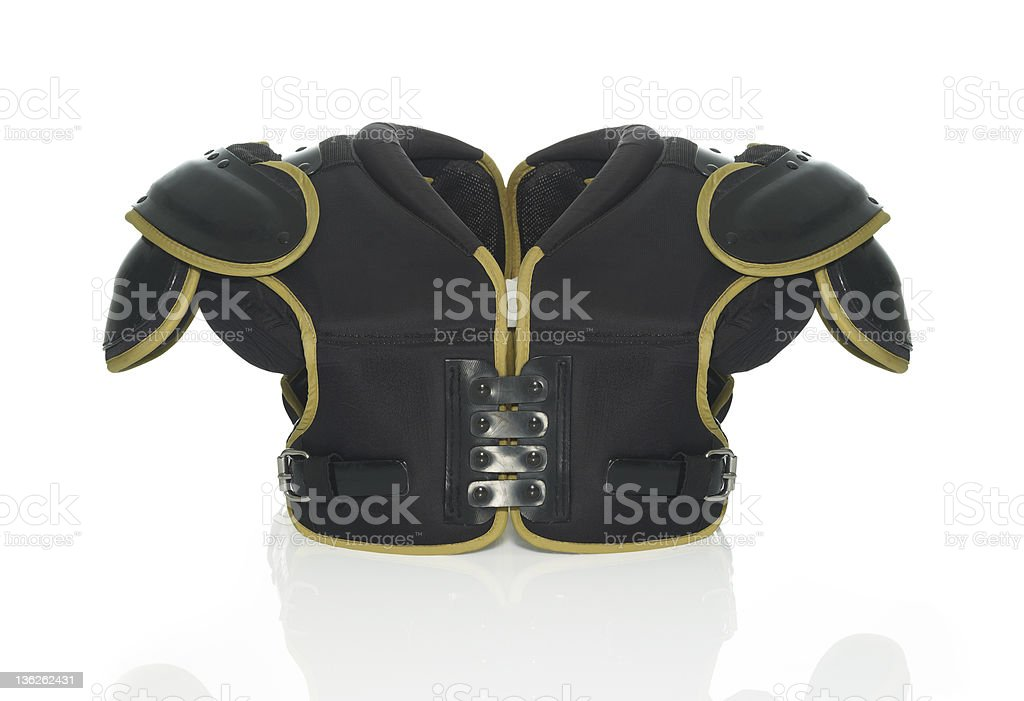 Shoulder pad stock photo