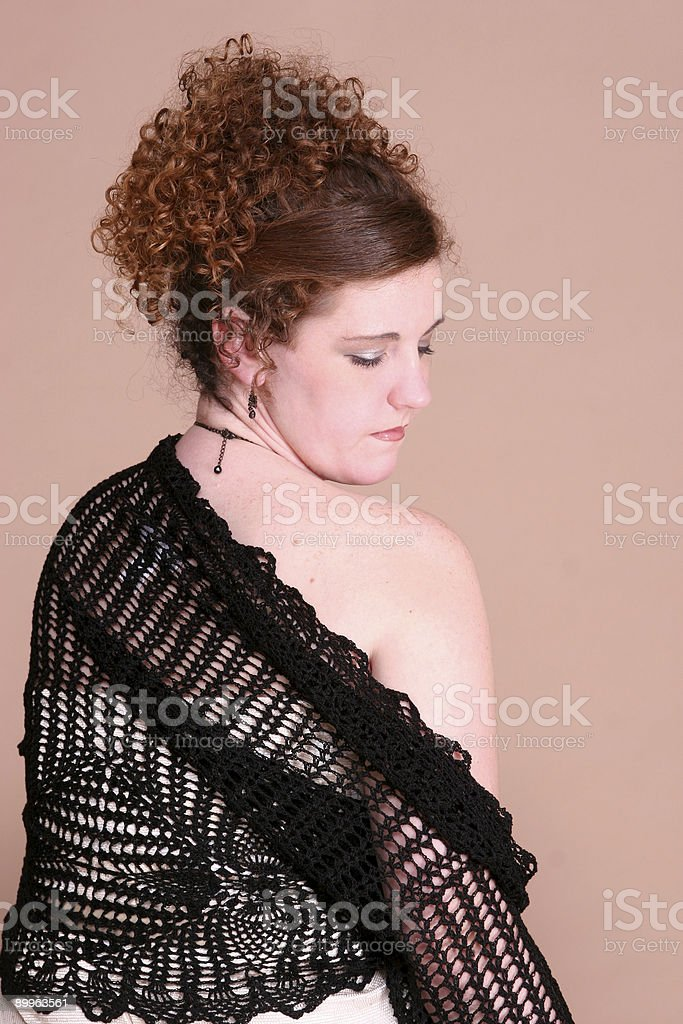 Shoulder. stock photo