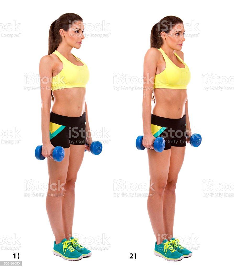 shoulder shurgs stock photo