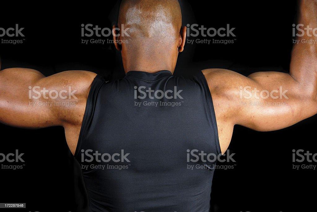 Shoulders stock photo
