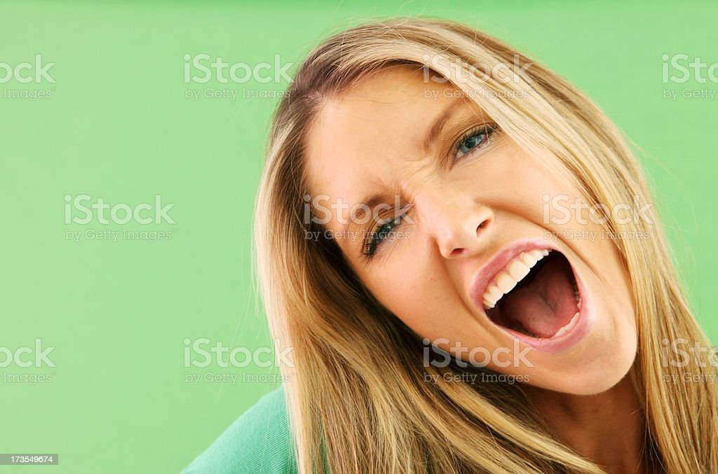 Shout Out royalty-free stock photo