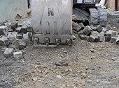 shovel bulldozer
